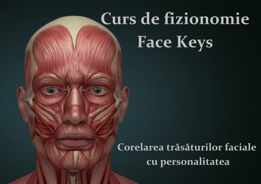 Curs  online de Face Reading - Face Keys
