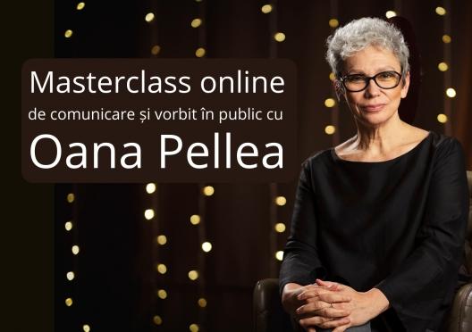 Masterclass de comunicare și vorbit în public cu Oana Pellea